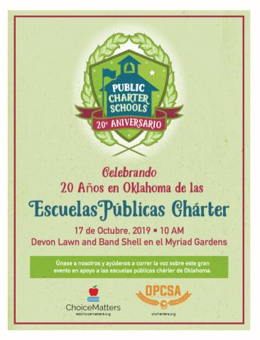 Charter School Celebration Spanish